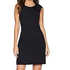 NWT Betsey Johnson Black Scuba Bow Tank Dress